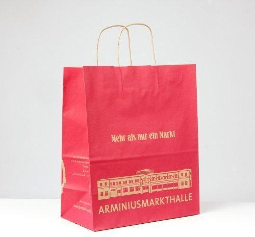 Бумажные сумки для транспортировки крафт-бумаги