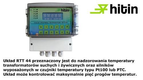 Przekaźnik kontroli temperatury RTT44