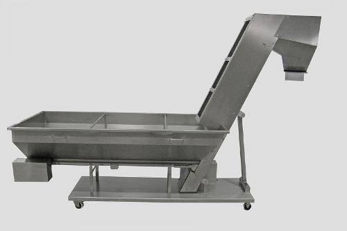 Ascending Conveyors With Belt Deb
