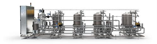 The product filtration system for fine beverages