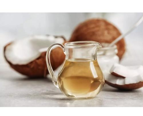 Huile de noix de coco brut