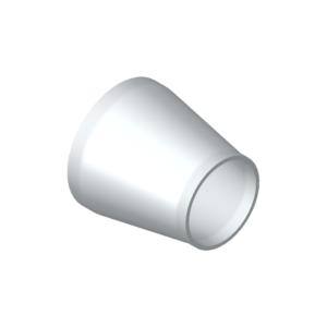 Reducer concentric, aluminium acc. to EN 754/755