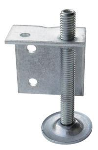 height adjuster with L-bracket
