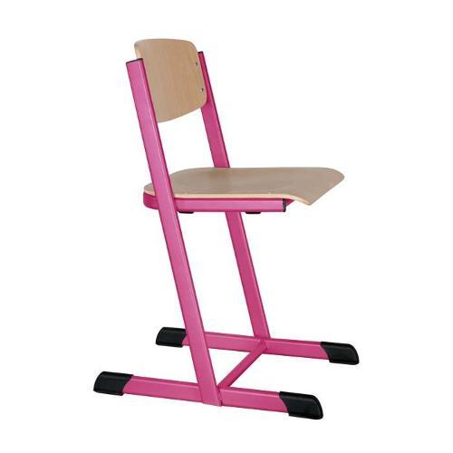 Schulstühle H-Form, offener Sitzträger