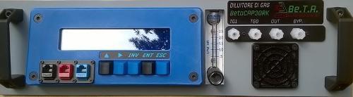 Diluitore di gas BetaCAP30X100