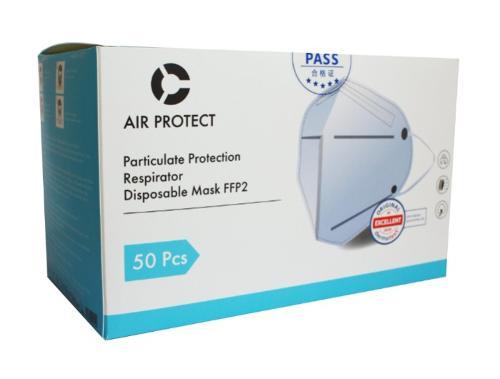 FFP2 Atemschutzmaske (50 Stück / Box)