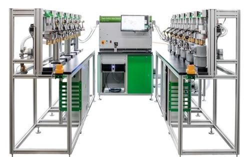 Gas meter test bench - Flow calibration