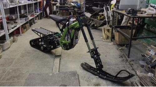 Surron snowbike kit