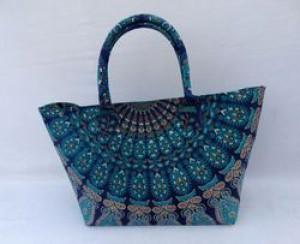 Mandala Summer tote bag