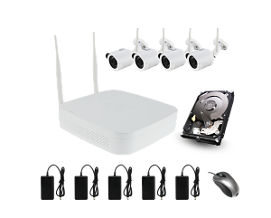 Kit cámaras Iberotec FULL HD 1080p wifi