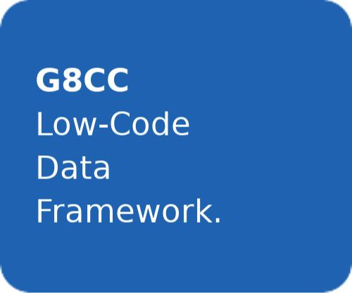 G8CC | Low-Code Data Framework.