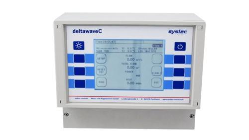 Ultraschalldurchfluss- und Wärmemengenmessung