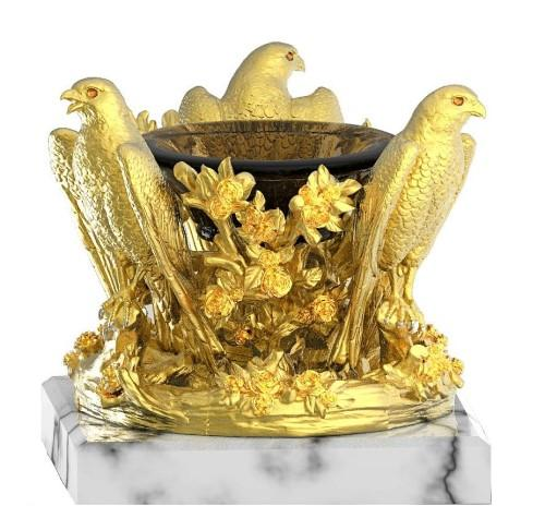 AMBROSIA Luxury Decorative Crystal Bowl
