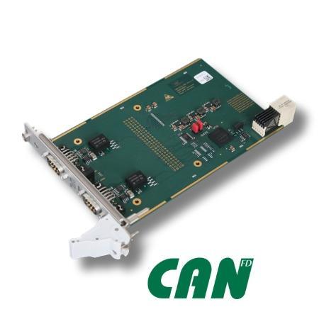 CompactPCI® Serial Karte mit CAN FD (CPCIs-CAN/402-2-FD)