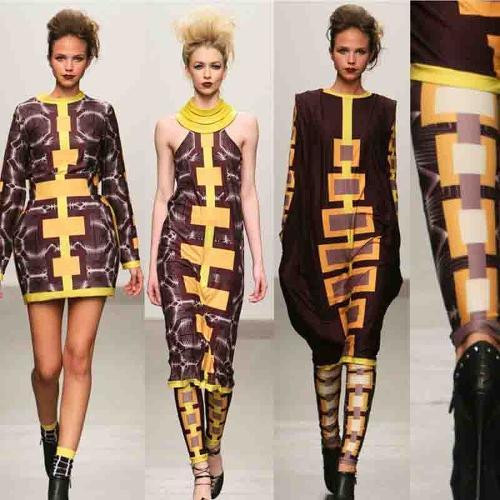 Reactive Digital Printed Fabric