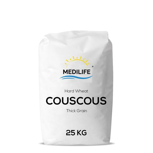 Couscous 25kg. Hard Wheat Thick Grain Couscous