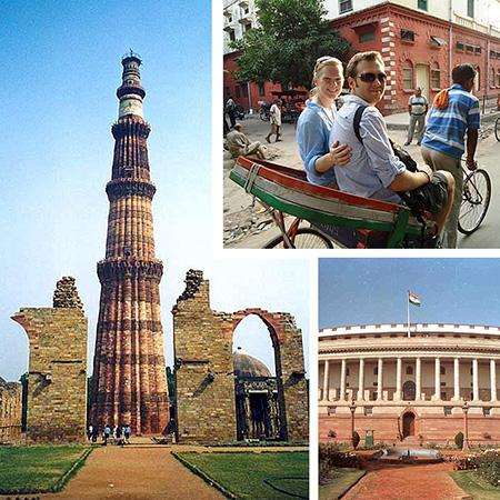 Visite guidée de Delhi - Tour de l'Inde 2018