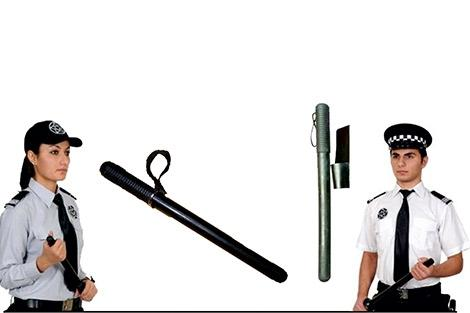 Rubbers stick for Security man