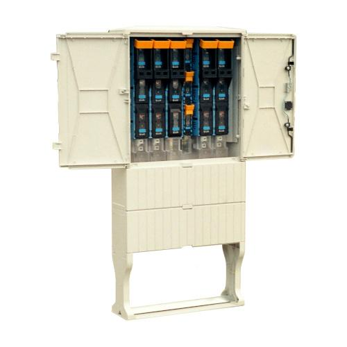 Cable metering boxes