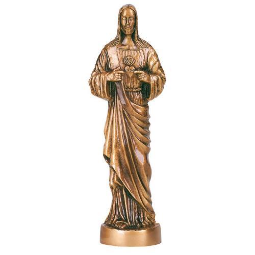 Statua in bronzo - Sacro Cuore di Gesù