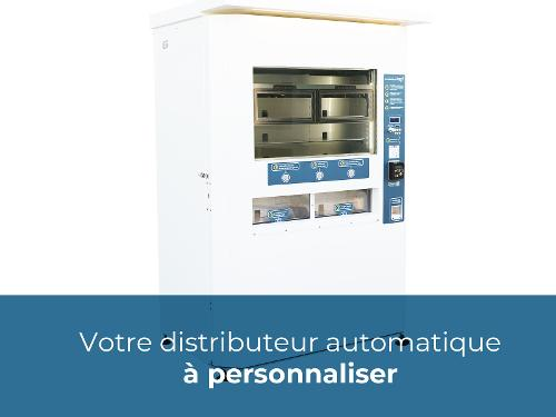 Kiosque réfrigéré 40 compartiments