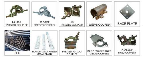 Accessoires d'échafaudage