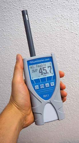 Handheld thermohygrometer - humimeter RH1