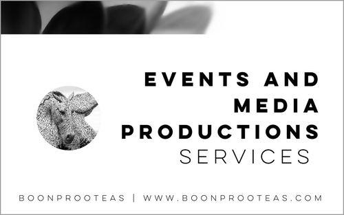 Events and Media Productions
