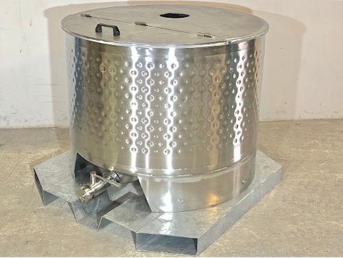 Tanque em aço inoxidável 316 - 6,45 HL