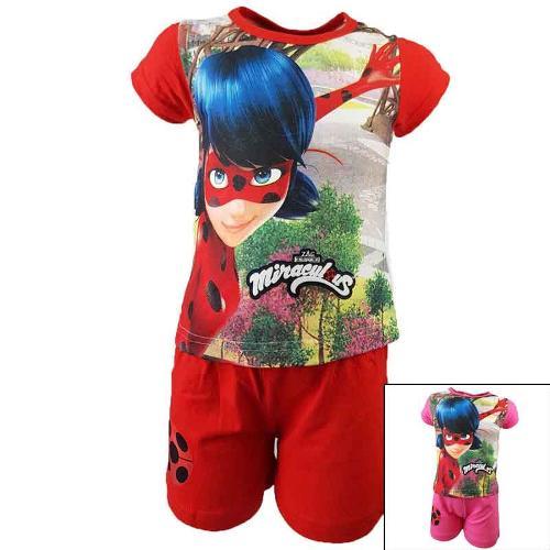 Wholesaler set of clothes kids licenced Miraculous