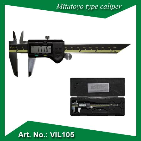 Mitutoyo type digital caliper