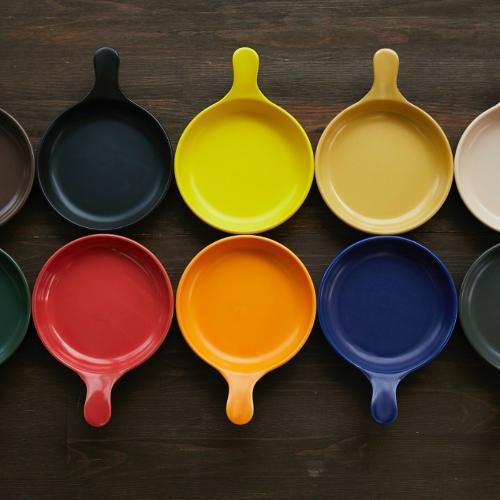 Japan Handmade SOWACA Ceramics Frying Pan