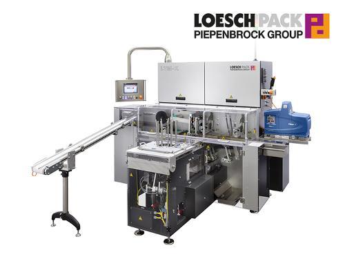 Falteinschlagmaschine für Einzelartikel in...