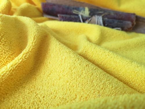 Microfiber terry fabric