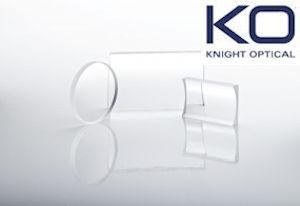 Sapphire Cylindrical Lenses for Endoscopes