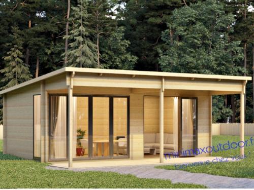 chalet Lenia idéal camping