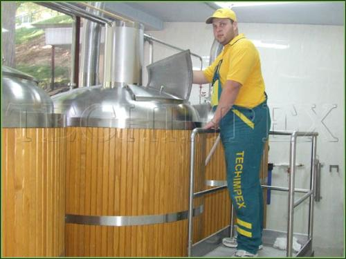 Mini brewery Blonder beer 5hl (500 liters)