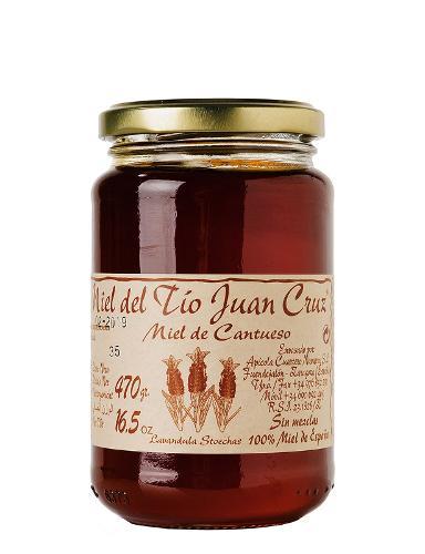 Red lavander honey