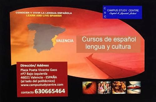 Cursos de español online.