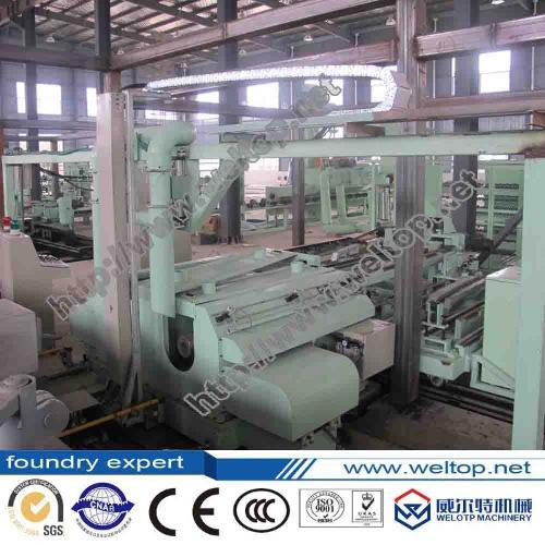 Double-station fully Automatic Centrifugal Casting Machine