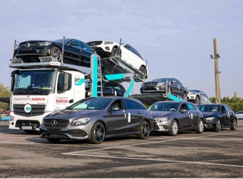 Transport de véhicule neuf