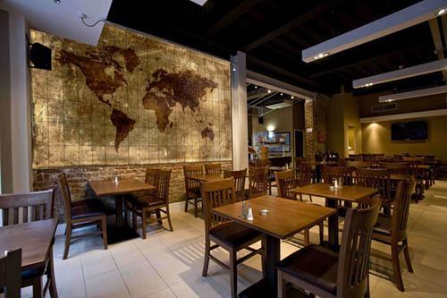 Decorative Cafe & Restaurant Tiles