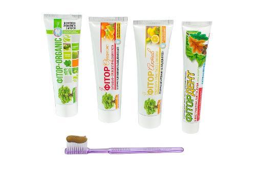 Зубная паста с фитором