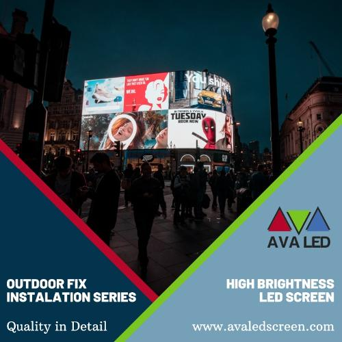 Fix installation LED Screen TN-OF Series