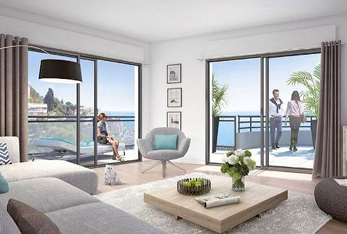Luxury apartments Beausoleil, the gate of Monaco