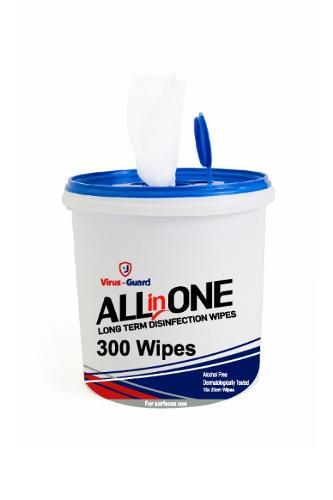 300 Desinfectiedoekjes