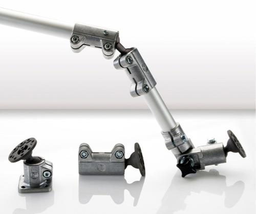 Solid Clamps with ball joint