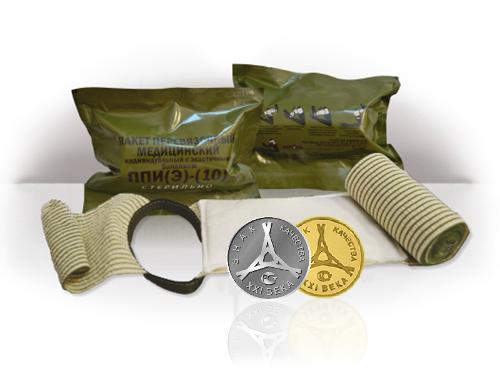 Пакет Перевязочный Индивидуальный с Эластичным бандажом
