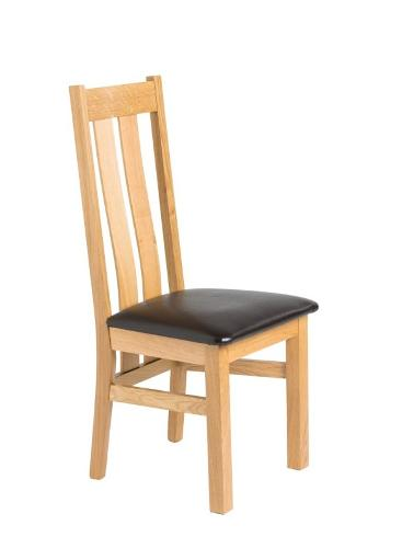 Oak chair Lucija