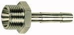Screw-in hose connector, R 3/8 o., for hose I.D. 13, AF 19